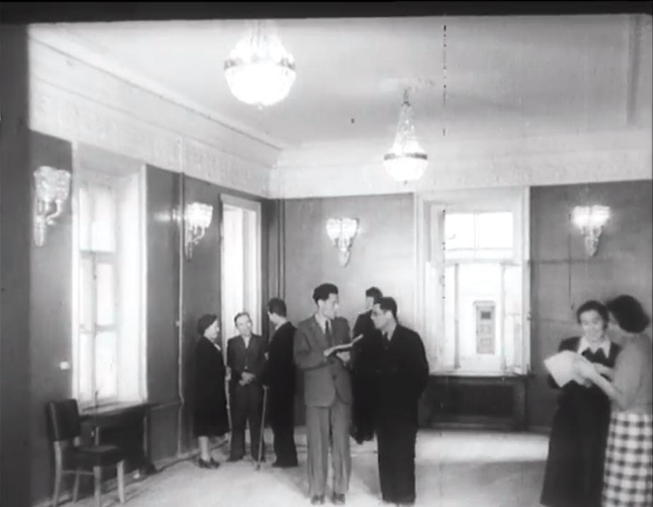 Пулковская обсерватория в 1953 году
