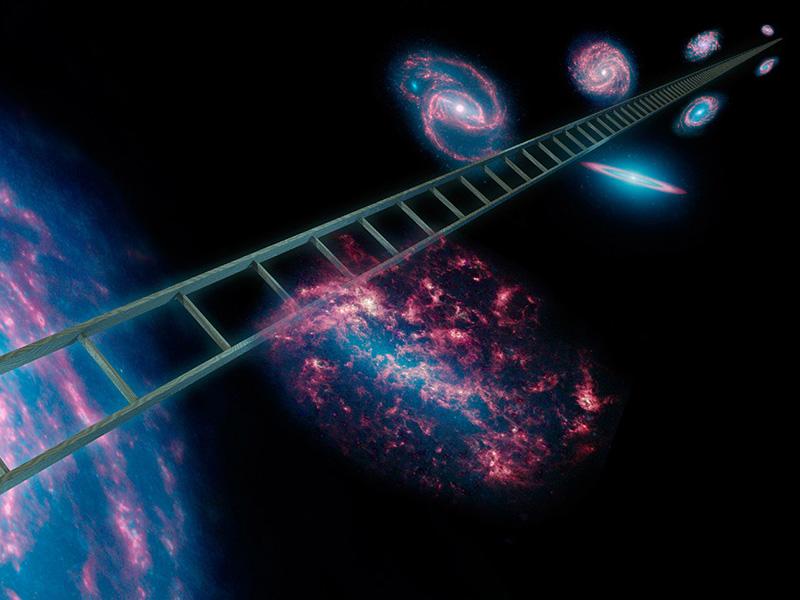 Лестница в небо: о расстояниях во Вселенной